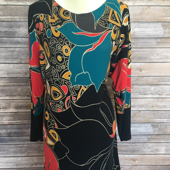 French Connection Dresses & Skirts - 🔥Colorful nice dress tunic French Connection 10/L